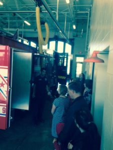 Fire Safety Month Oct we visited the downtown Cedar Rapids Fire Station.